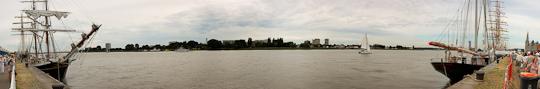 Panorama Tall Ships Races Scheldekaai