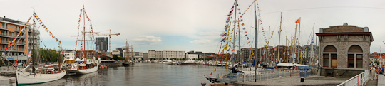 Panorama Tall Ships Races Willemdok