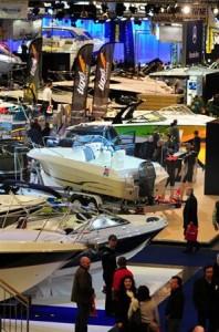 sportboten op Belgian Boat Show 2011