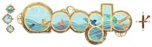 Google Doodle 183e verjaardag Jules Verne