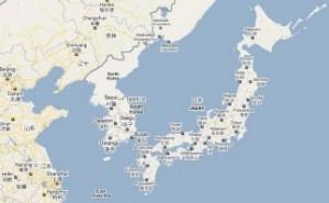 Japan, aardbeving en tsunami in Miyagi