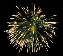 Vuurwerk voor feest 100 artikels